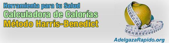 Calculadora de calorias - Metodo Harris-Benedict