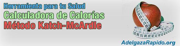 Calculadora de Calorías - Método Katch-McArdle