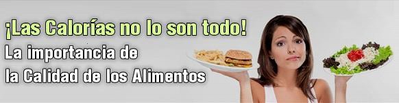 Las calor as no lo son todo la importancia de la calidad de los alimentos adelgazar r pido - Calcular calorias de los alimentos ...
